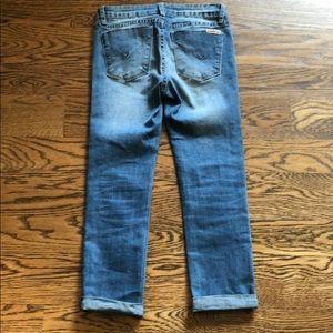 Hudson crop Jean
